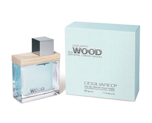 Dsquared² She Wood Crystal Creek Wood Ženska Dišava
