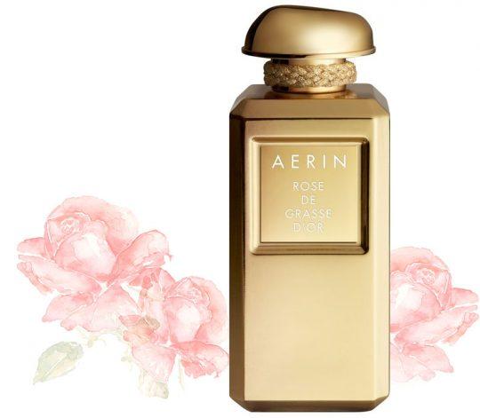 Nova dišava Aerin Rose de Grasse d'Or