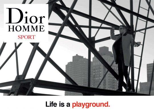 Nova različica Dior Homme Sport